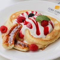raspberry banana pancake